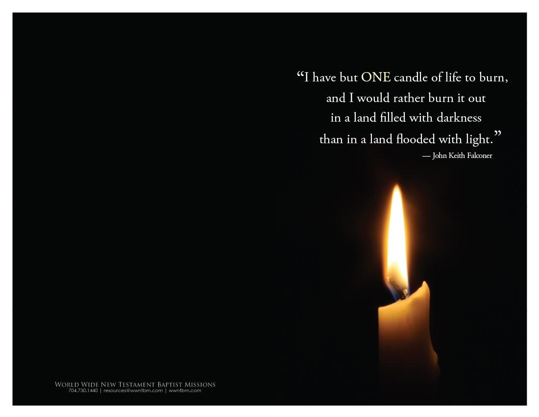 Candle bulletin