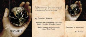 Faith Promise Card front