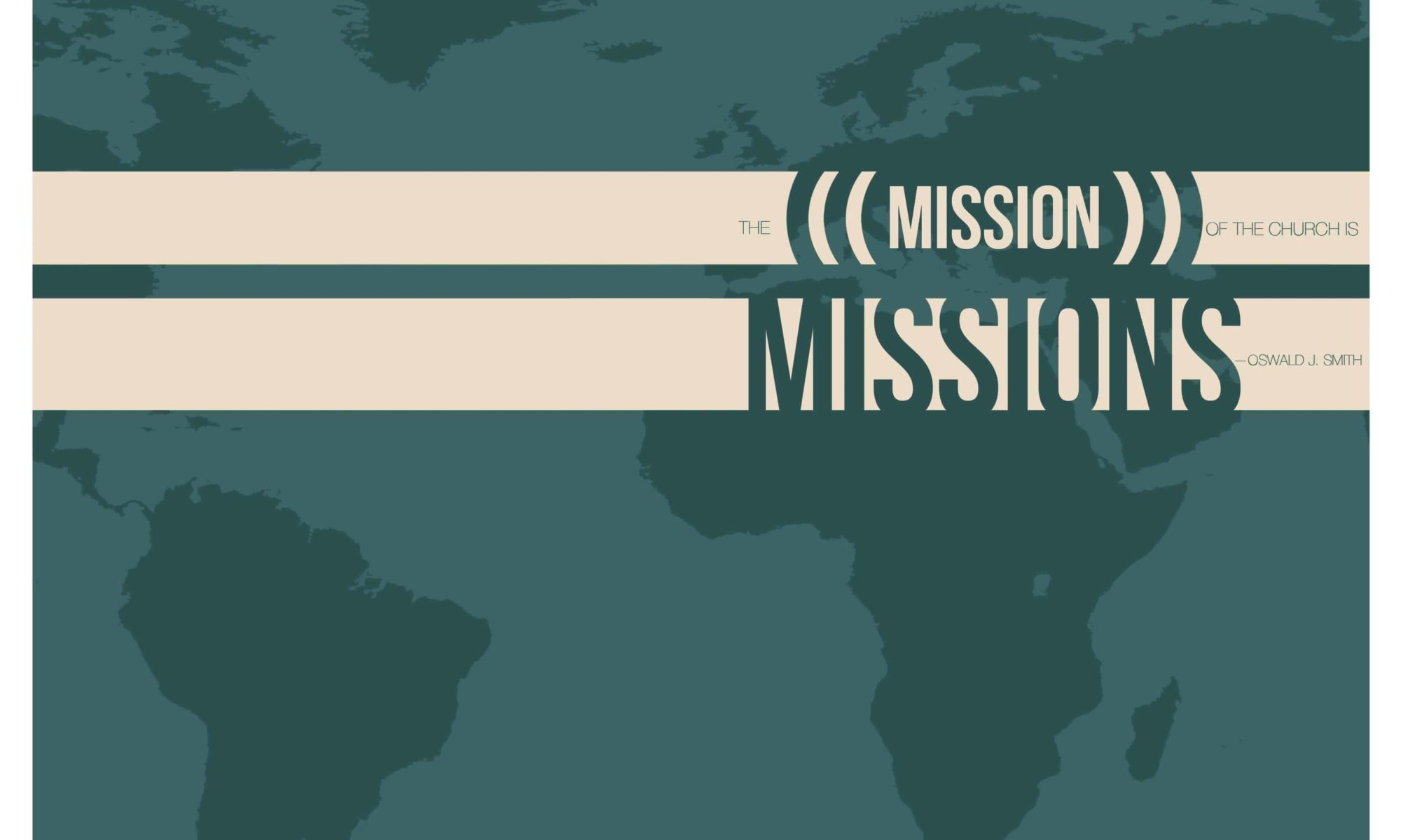 Mission of the Church bulletin