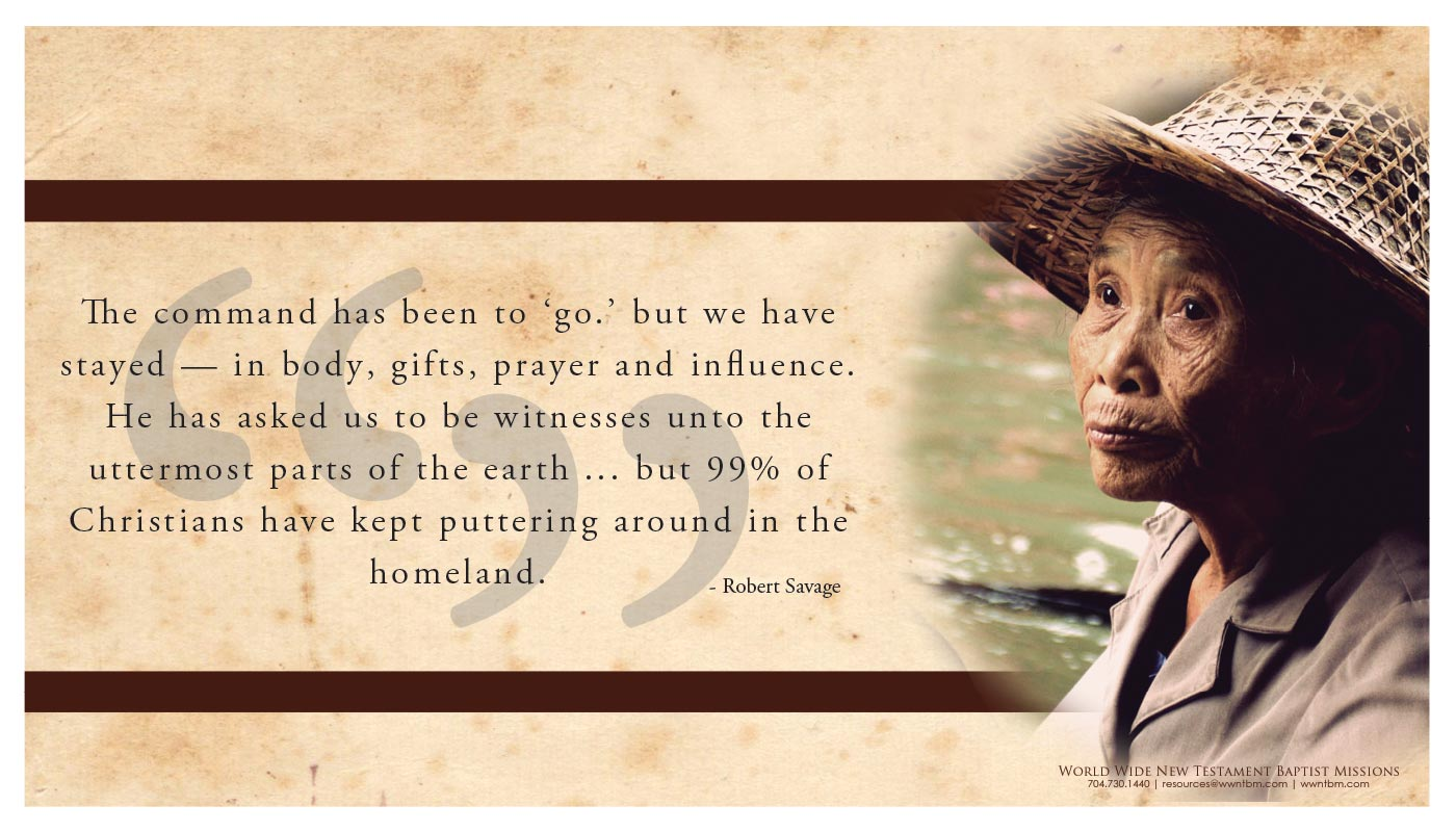 Missions Quotes placemat