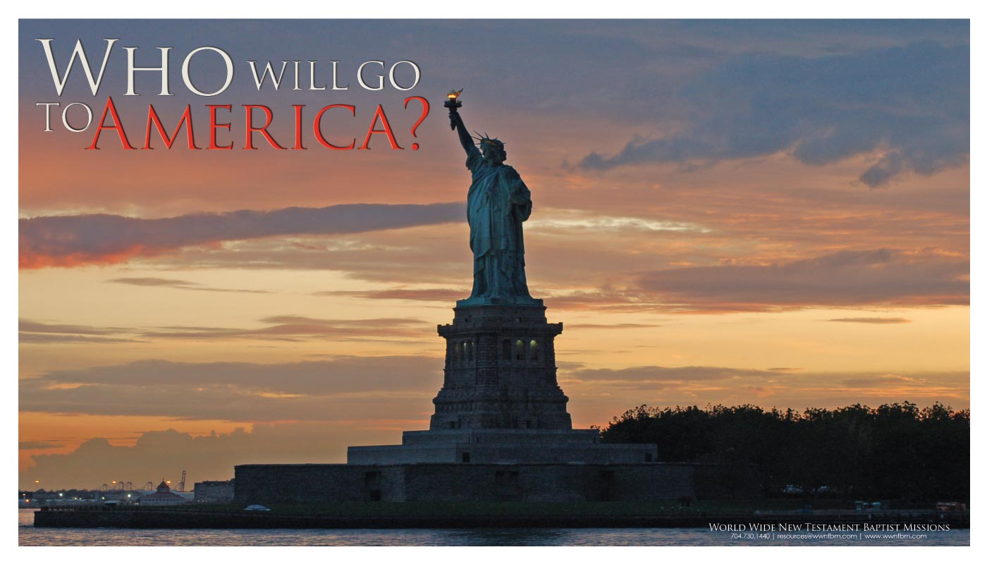 Who Will Go to America? placemat