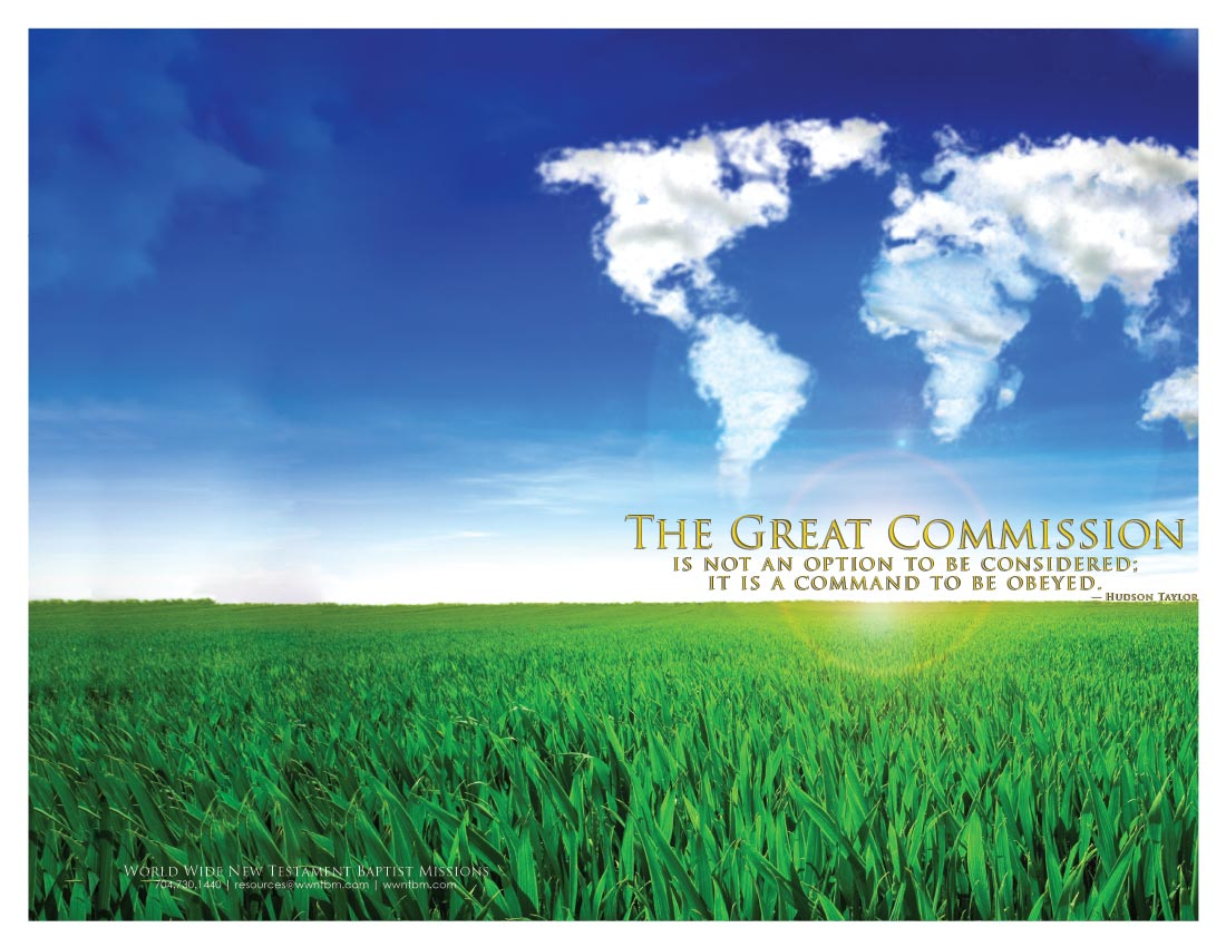 The Great Commission bulletin