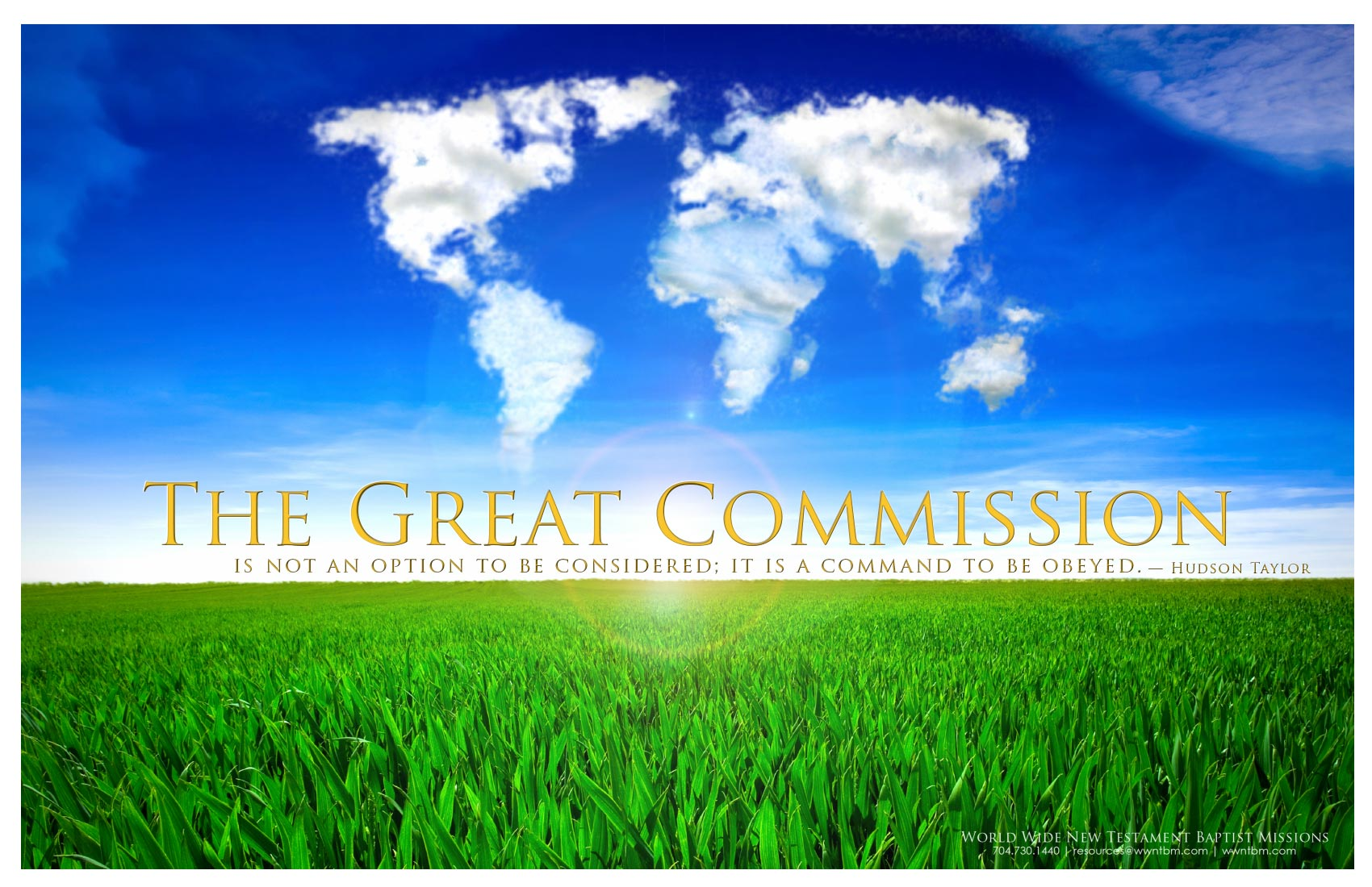 The Great Commission poster